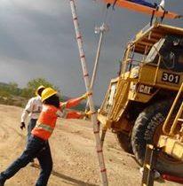 rescate minero escalera