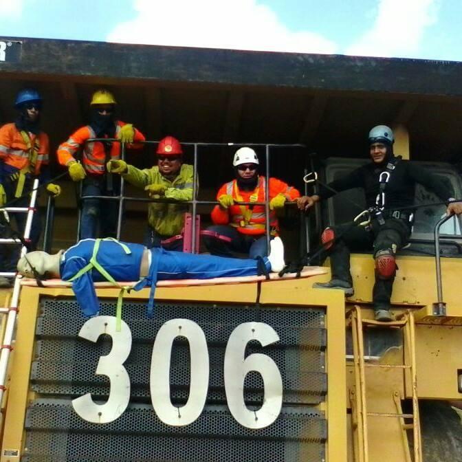 rescate minero tirolesas
